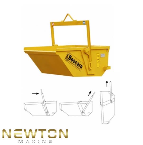 Beton ve atık teknesi makinesi