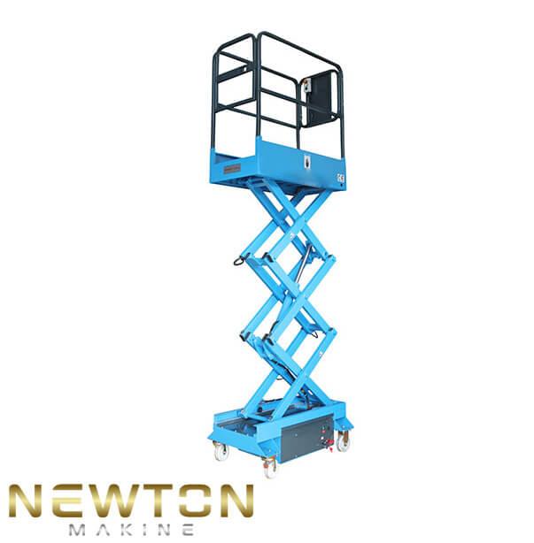 3 metre akülü makaslı platform