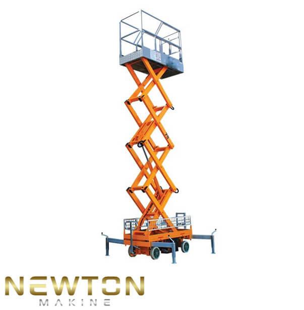 6 metre makaslı personel platformu
