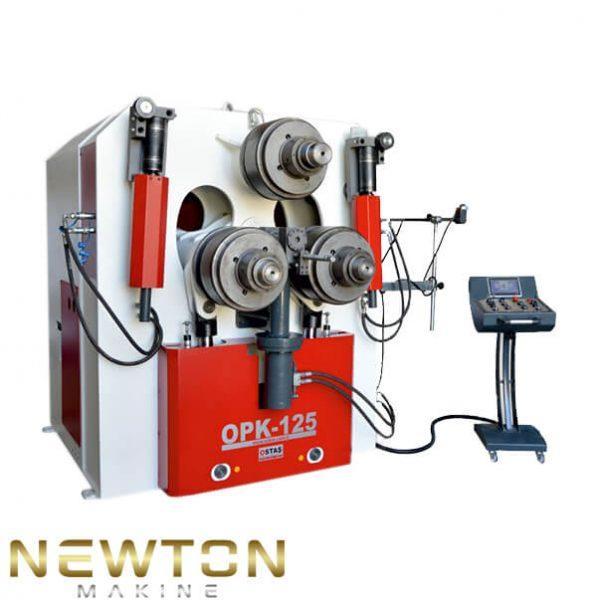 125 cm boru ve profil bukme makinesi