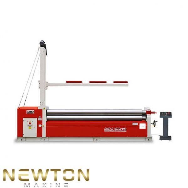 asimetrik 3 toplu silindir sac bükme makine