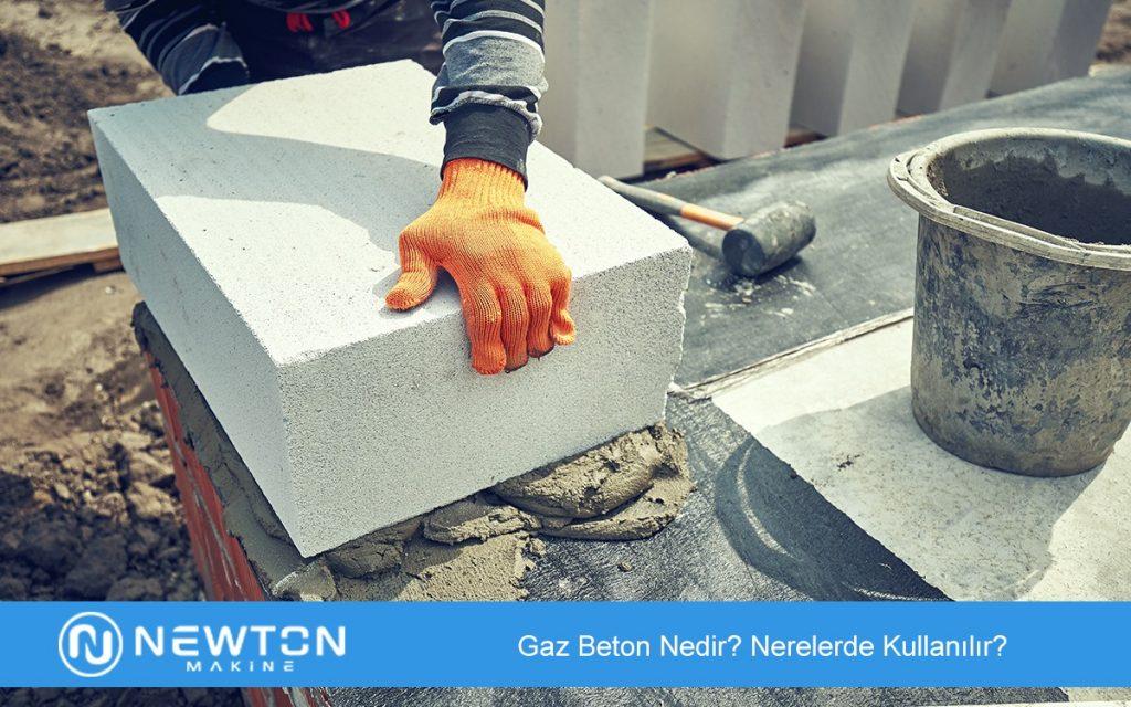 Gaz Beton Nedir Nerelerde Kullanılır